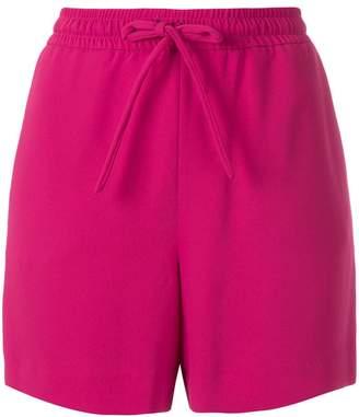 P.A.R.O.S.H. bow-detailed drawstring shorts