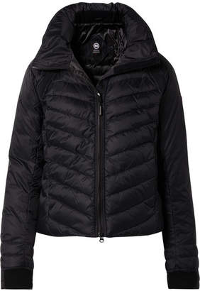 Canada Goose Hybridge Base Hooded Quilted Shell Down Jacket - Midnight blue