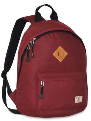 Everest Vintage Backpack, Burgundy, One Size