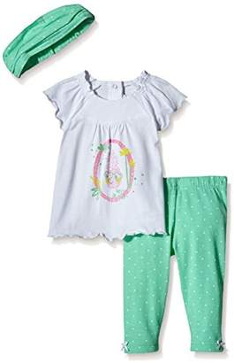 3 Pommes Baby-Girls Sweet Caraïbes Clothing Set,3-6 Months