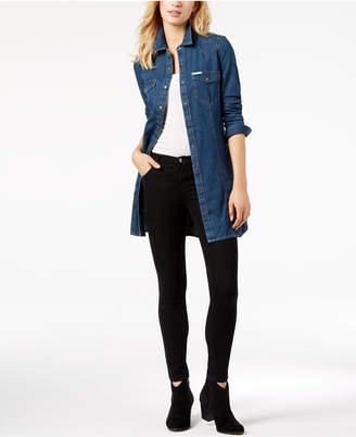 Calvin Klein Jeans Retro Luxe Cotton Denim Shirtdress