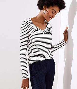 b8350c794d720 LOFT Women s Longsleeve Tops - ShopStyle