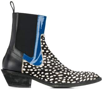 Haider Ackermann pointed toe Chelsea boots