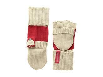 Calvin Klein Color Block Flip Top Gloves