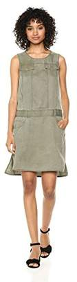Jones New York Women's Sleeveless Dropped Waist Utility Dress