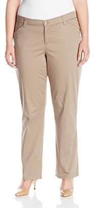 Lee Women's Plus Size Midrise Fit Freedom Pant