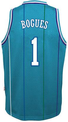 adidas Muggsy Bogues Charlotte Hornets Retired Player Swingman Jersey, Big Boys (8-20)