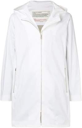 A.P.C. zipped-up parka coat