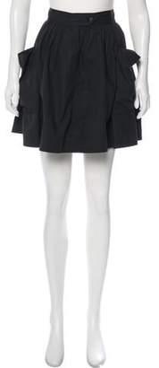 Apiece Apart Pleated Mini Skirt