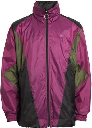 Burberry Packaway Hood Colour Block Lightweight Jacket