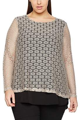 Zizzi Women's Z20023A Blouse,(Manufacturer Size: Small)