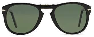 5e99cfc3b5 Persol Men s 0714 Polarized Vintage Icons Foldable Sunglasses