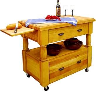 Catskill Craft Island Europa Kitchen Cart
