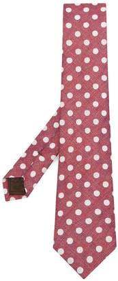 Church's polka dot tie