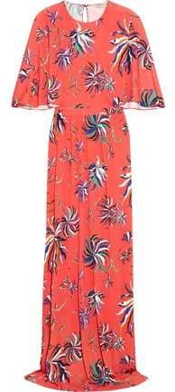 Emilio Pucci Printed Jersey Maxi Dress