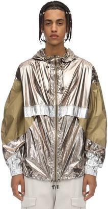 Isabel Marant Hooded Tech Metallic Kizzya Rain Jacket