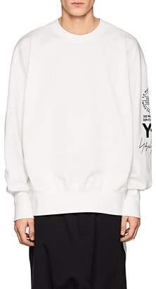 Y-3 Men's Logo Cotton Terry Sweatshirt