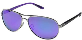 Oakley Women's Metal Woman Polarized Aviator Sunglasses