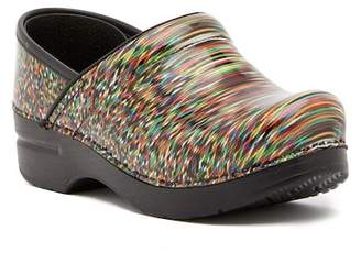 Dansko Professional Printed Leather Clog