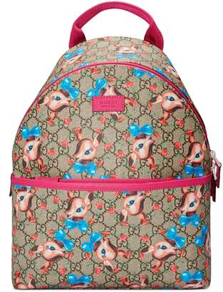 28f2b9bad77b Gucci Children s GG fawns backpack