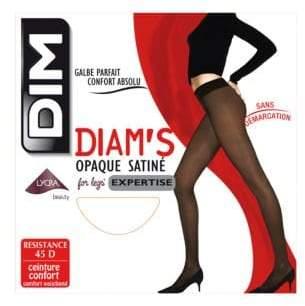 Dim Diam's Satin Effect Pantyhose 45D