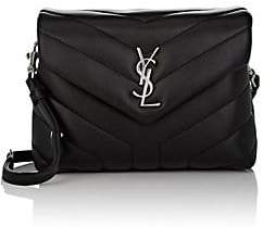 Saint Laurent Women's Monogram Loulou Toy Leather Shoulder Bag - Black