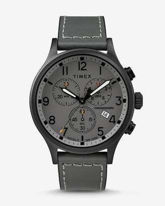 Express Timex Gray Scout Chronograph Watch