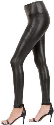 Faux Leather Leggings $134 thestylecure.com