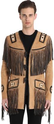 Hendrix Fringed Suede Jacket