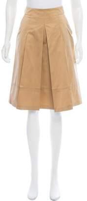 Tara Jarmon Pleated Knee-Length Skirt