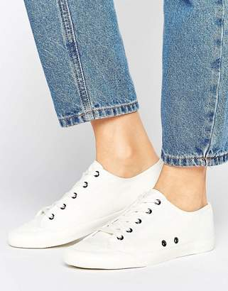 ASOS DAISY CHAIN Lace Up Sneakers $29 thestylecure.com