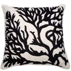 A & R Cashmere Tree Crewel Pillow