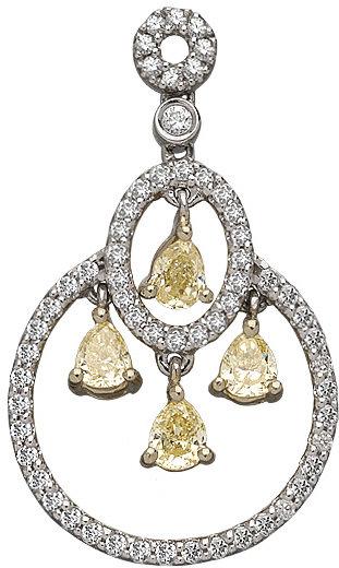 Brian Danielle Diamond Chandelier Earrings