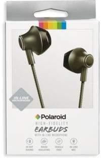 Polaroid High-Fidelity Metallic Earbuds