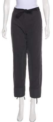 Dries Van Noten Mid-Rise Straight Pants Grey Mid-Rise Straight Pants