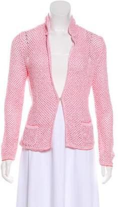 Amina Rubinacci Knit Casual Jacket