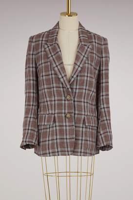 Etoile Isabel Marant Linen Isaure jacket