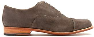 Grenson Benjamin suede derby shoes