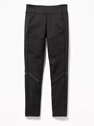Old Navy Go-Dry 7/8-Length Moto Leggings for Girls
