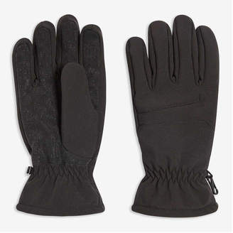 Joe Fresh Men's Touch Screen Gloves, Black (Size L/XL)