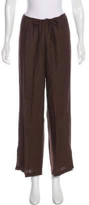 Eileen Fisher HIgh-Rise Wide-Leg Pants