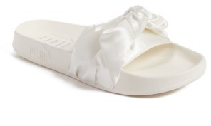 Women's Fenty Puma By Rihanna Bow Slide $89.95 thestylecure.com