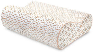 SensorPEDIC Memory Foam Classic Contour Copper Infused Bed Pillow