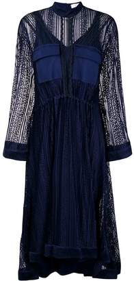 Chloé lace detailed dress