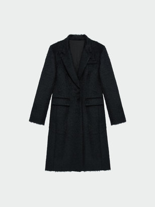 Notch Collar Fitted Coat $1,298 thestylecure.com