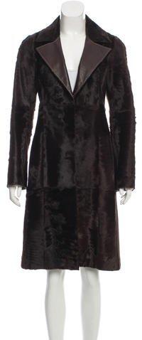 Fendi Persian Lamb Long Coat
