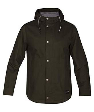 Hurley Men's Mac A Cotton Jacket