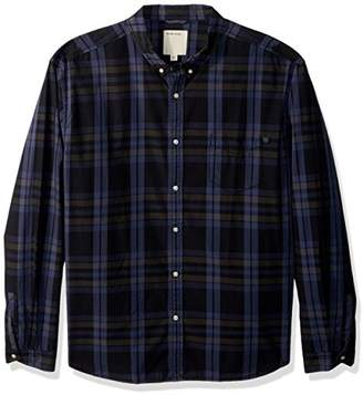 Life After Denim Men's Long Sleeve Slim Fit Berkeley Poplin Plaid Shirt
