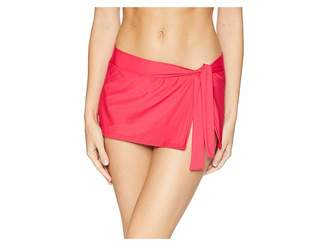 Tommy Bahama Pearl Skirted Hipster Bikini Bottom Women's Swimwear
