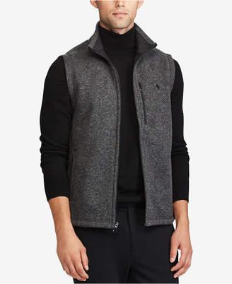 Polo Ralph Lauren Men's Big & Tall Fleece Mock Neck Vest